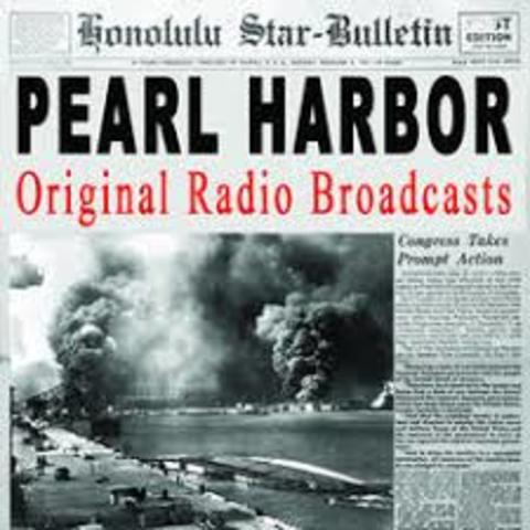 Pearl Harbor Attack Reported by Radio
