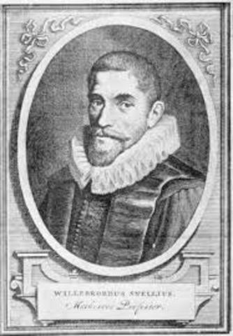 Willebrord Snellius (1581 - 1626)