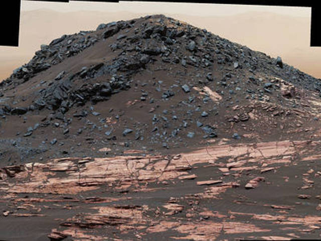 Curiosity image of 'Ireson Hill' on Mount Sharp