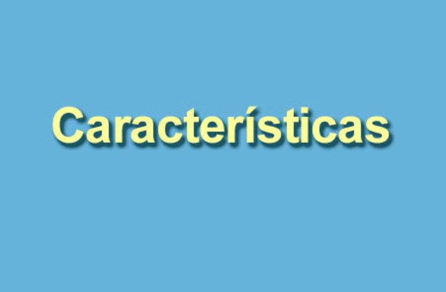 Características Teoría de Sistemas