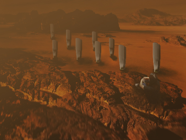 the Form of First Tribe on Mars