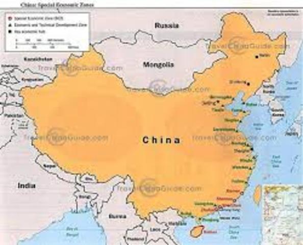 China becomes united