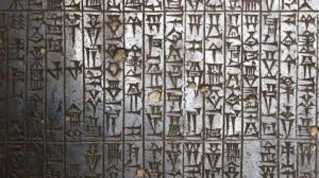 Todo comienza 1,750 años a.C