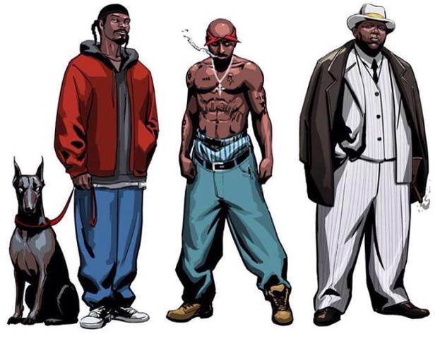 Famosos del Gangster Rap