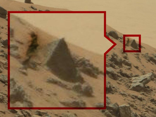 the Mystery Life and Structure on Mars