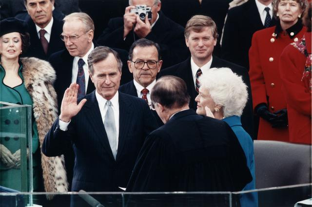 Inauguration of George H. W. Bush