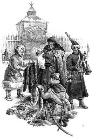 Первые в Кузнецком остроге