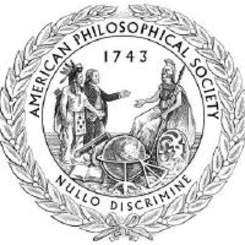 Inducted into American Philosophical Society