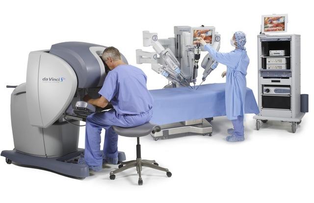 Sistema quirúrgico Da Vinci