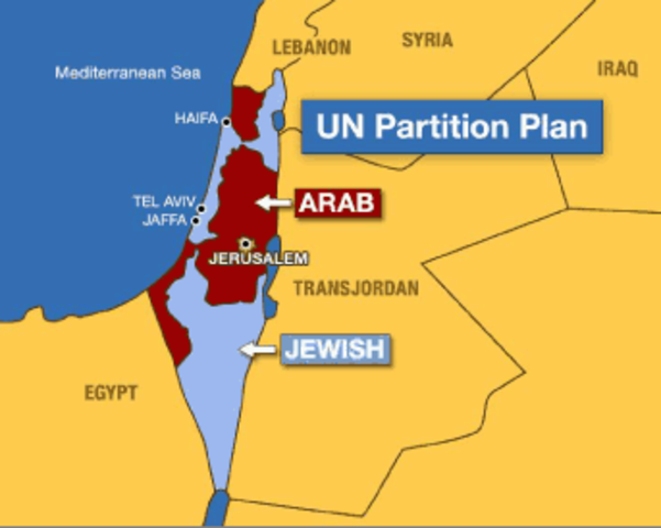 """United Nations """"Partition Plan"""""""