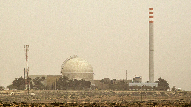 Israel builds large nuclear reactor