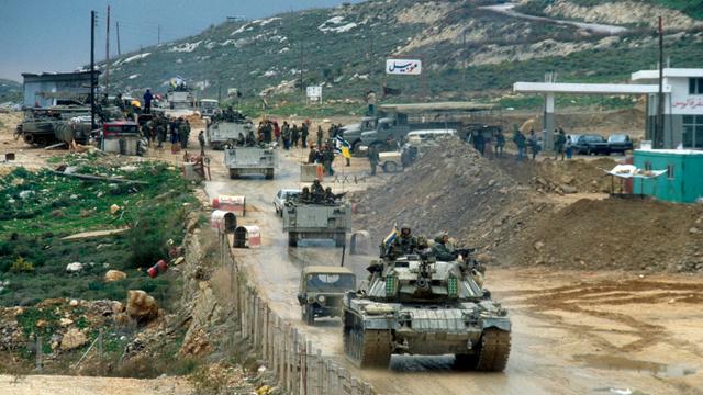Israeli withdrawel from Lebanon