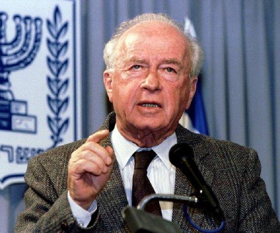 Yitzhak Rabin Killed