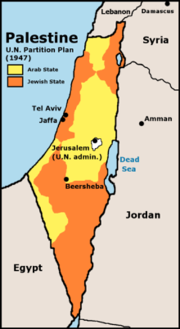Proposed Palestinian state