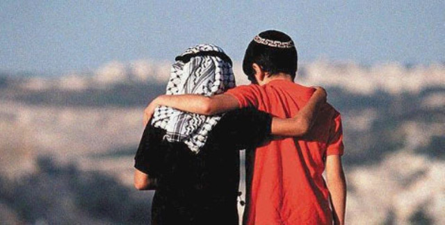 Israeli and Palestinian discussion