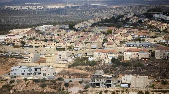 Legalised Jewish settlements