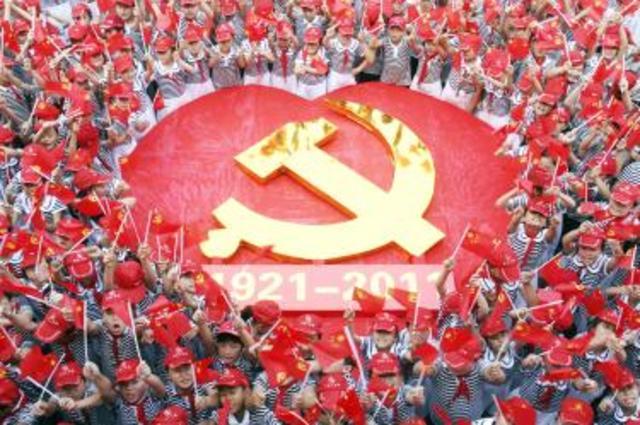 CCP takes Nanjing and Shanghai