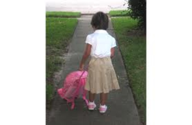 First Day Of Pre-School