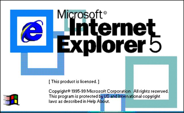 Internet Explorer 5 for Windows