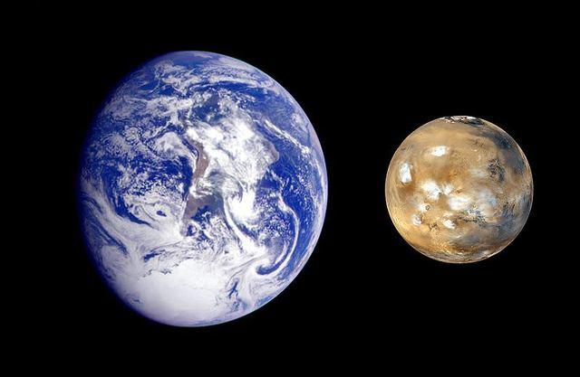 Mars similarity to Earth