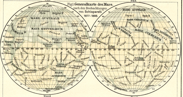 New Nomenclature for Mapping Mars