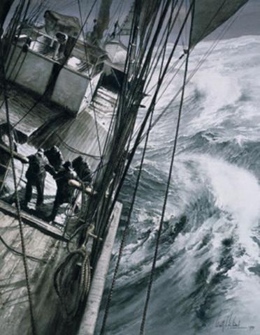 Scotts left on the Terra Nova.