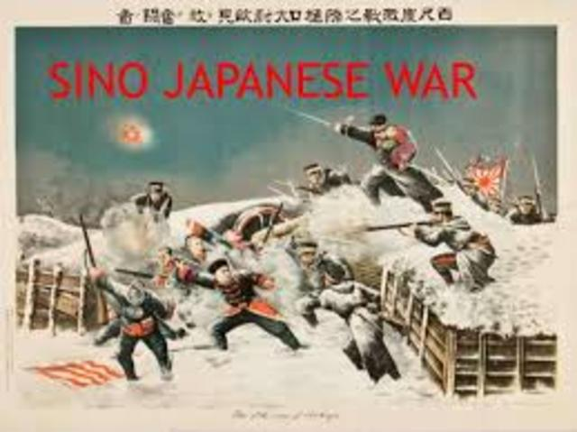 Sino-Japanese War ends