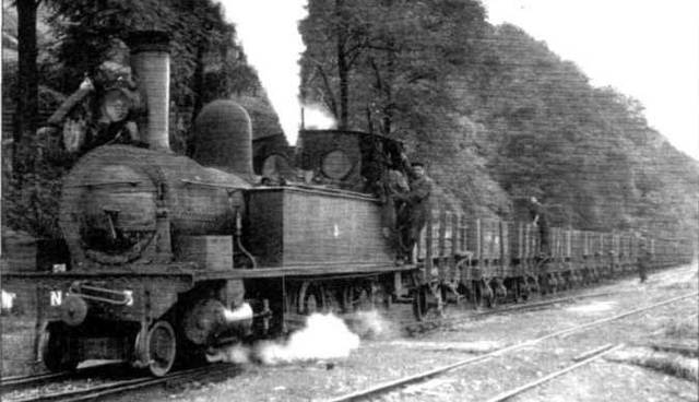La primera línea ferroviaria