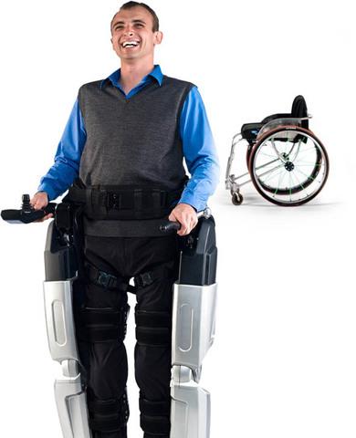 Rex, un exosquelette robotisé