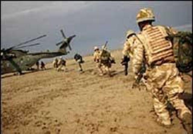 Ritiro delle truppe Inglesi