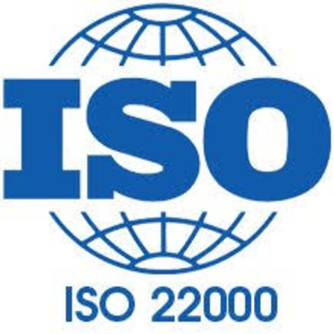 Publicación oficial ISO 22000