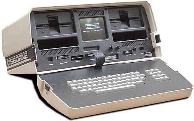 La primera computadora portátil.