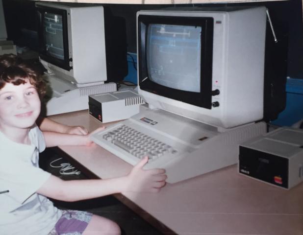 El boom de la computadores por que cada ves eran mas pequeña y menos costosas