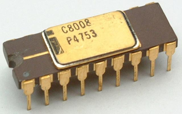 El primer CPU de Intel