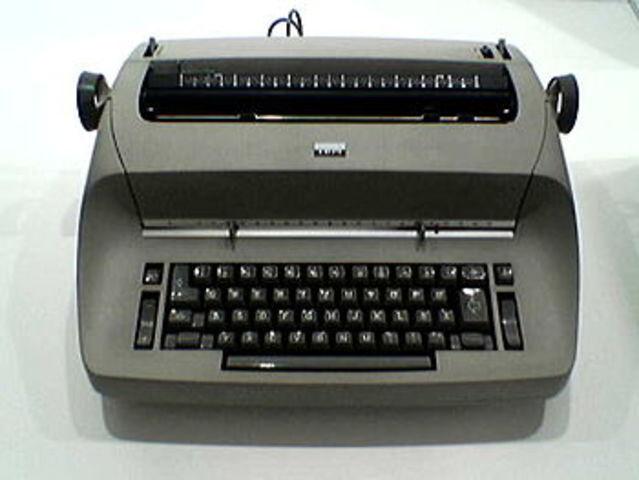 Máquina de escribir magnética de Tape/Selectric.