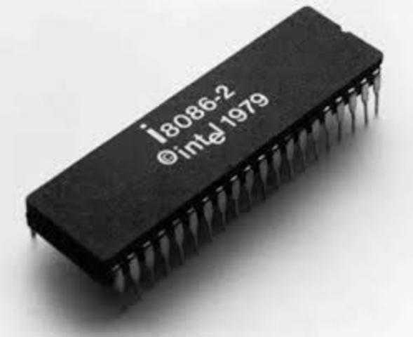 1978 el microprocesador Intel 8086