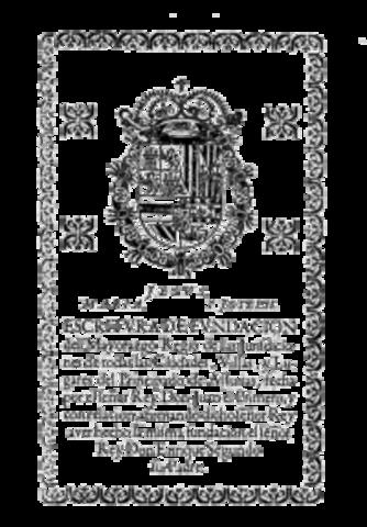 Ejercicio de señorío jurisdiccional del Principado de Asturias.