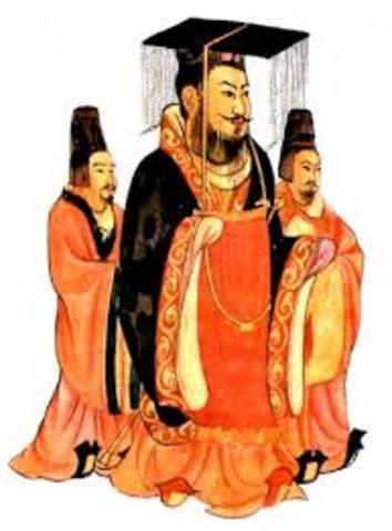 Emperadores chinos (2.200 AC)