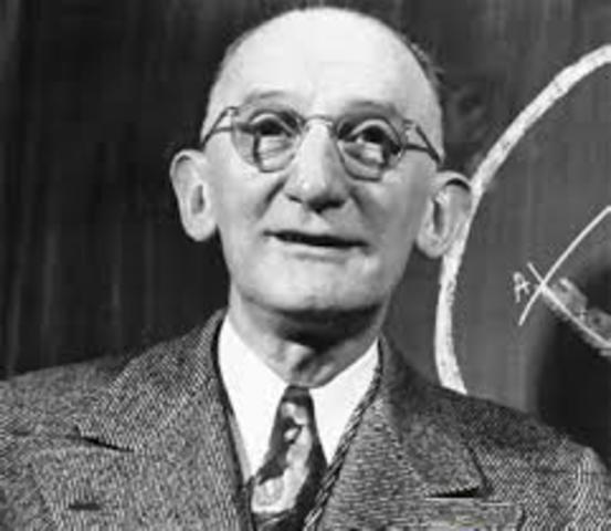 Luis León Thurstone (1933)