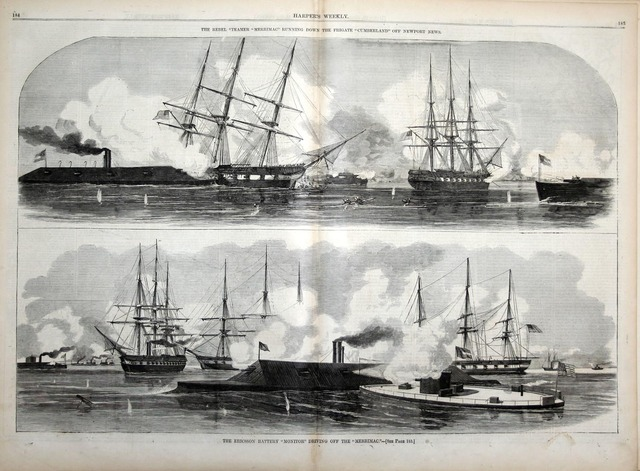 Battle of the Monitor and Merrimac