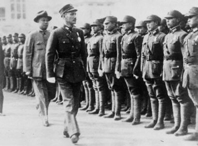 the GMD and the communists had captured Hangzhou, Shanghai and Nanjing