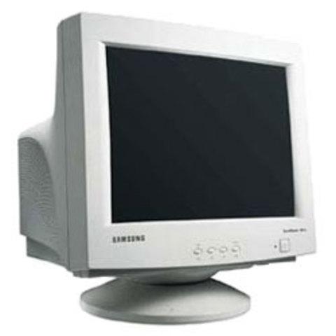 Monitor CRT.