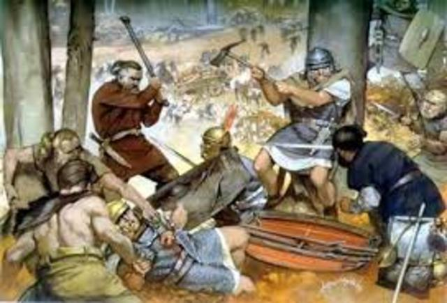 CON LA INVACIÓN DE LOS BÁRBAROS, LA MAYORÍA DE LOS PUEBLOS DECAYERÓN Y VIAJAR SE CONVIRTIÓ PELIGROSO