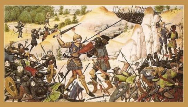 Fracaso de Carlomagno en el intento de tomar Zaragoza.
