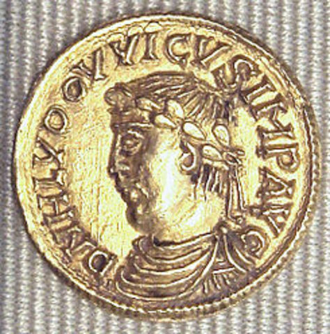 Ludovico Pío ocupa Barcelona