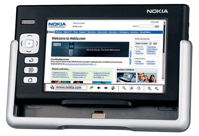 Tablet Nokia 770