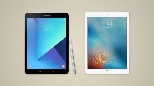 Actualidad/ Galaxy Tab S3/IPad Pro