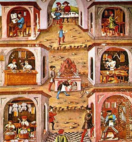 Siglo XIII Primeros gremios artesanales en europa