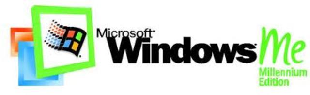 Windows ME.