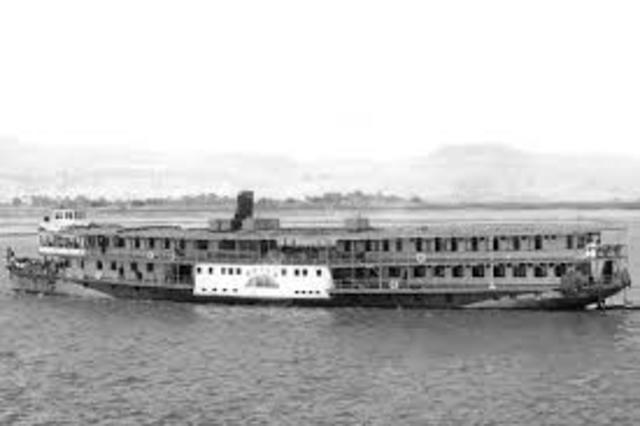 Primeros barcos para turistas